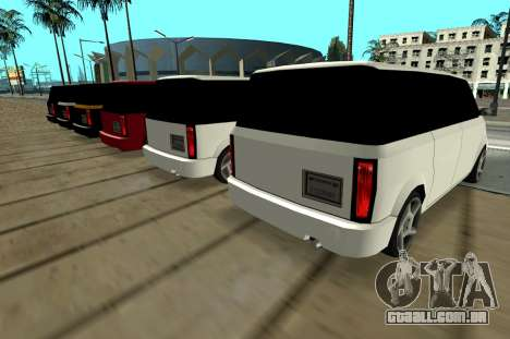 Moonbeam Kaef para GTA San Andreas vista direita