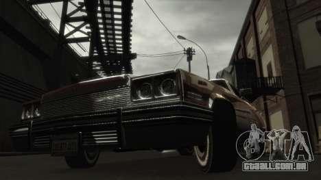 ENB Config by avydrado para GTA 4 quinto tela
