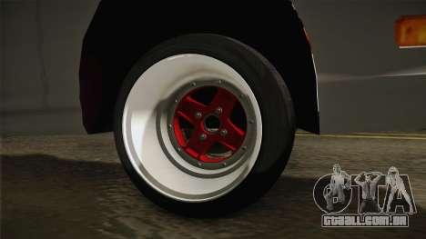 Honda Integra Type R para GTA San Andreas vista traseira