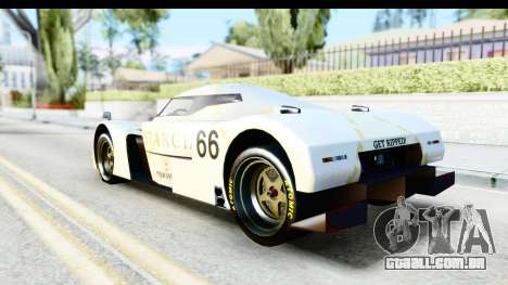 GTA 5 Annis RE-7B IVF para GTA San Andreas vista interior