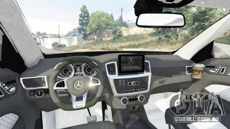 GTA 5 Mercedes-Benz GLE 450 AMG 4MATIC (C292) [add-on] vista lateral direita