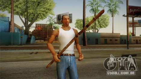 Silent Hill 2 - Weapon 1 para GTA San Andreas terceira tela