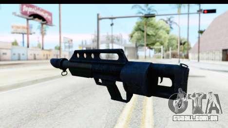 Pancor Jackhammer para GTA San Andreas segunda tela