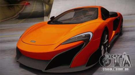 McLaren 675LT 2015 10-Spoke Wheels para GTA San Andreas