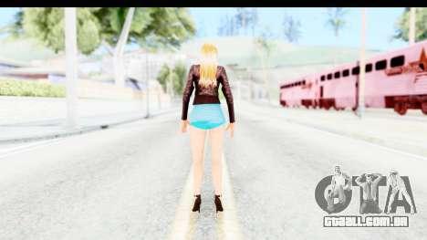 Sarah Hyland para GTA San Andreas terceira tela