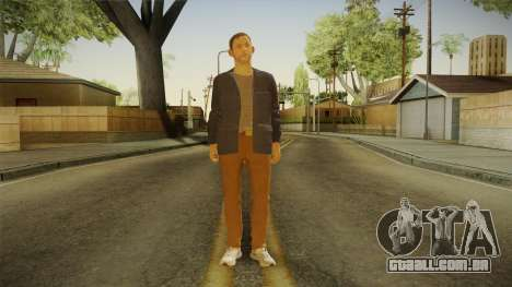 Quantum Break - William Joyce (Dominic Monaghan) para GTA San Andreas segunda tela