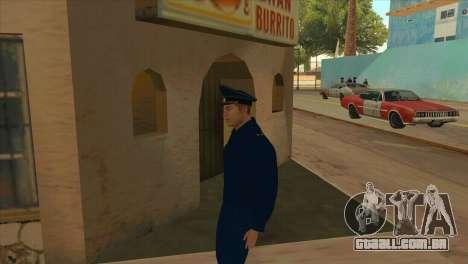 O Promotor de jaqueta PN para GTA San Andreas segunda tela