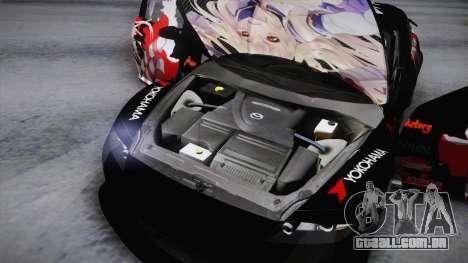 Mazda RX-8 VIP Stance Shimakaze Itasha para vista lateral GTA San Andreas