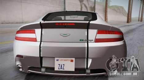 NFS: Carbon TFKs Aston Martin Vantage para GTA San Andreas vista traseira