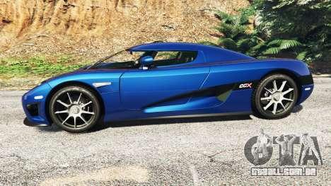 GTA 5 Koenigsegg CCX 2006 [Autovista] v2.0 [replace] vista lateral esquerda