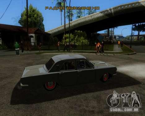 GAZ 2401 para GTA San Andreas esquerda vista