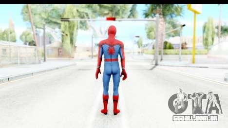 Marvel Heroes - Spider-Man Civil War para GTA San Andreas terceira tela