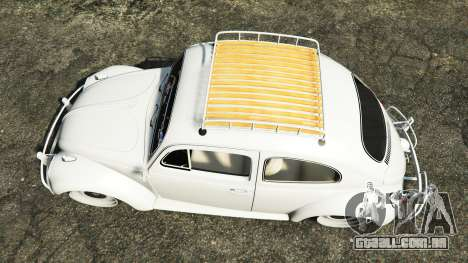 GTA 5 Volkswagen Fusca 1968 v1.0 [add-on] voltar vista
