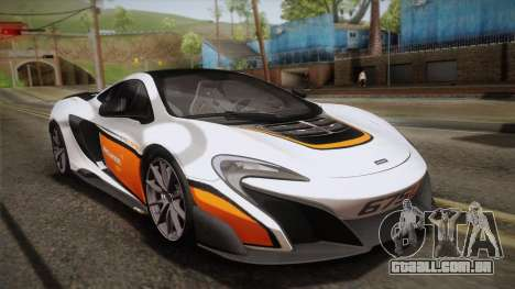 McLaren 675LT 2015 10-Spoke Wheels para as rodas de GTA San Andreas