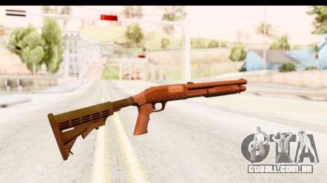 Tactical Mossberg 590A1 Black v2 para GTA San Andreas segunda tela