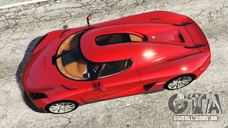 GTA 5 Koenigsegg Regera 2016 v1.1a [add-on] voltar vista