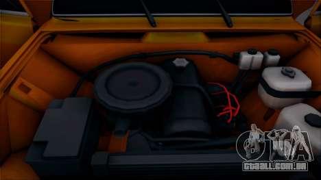 VAZ 2105 Pigler 1.0 para GTA San Andreas vista traseira