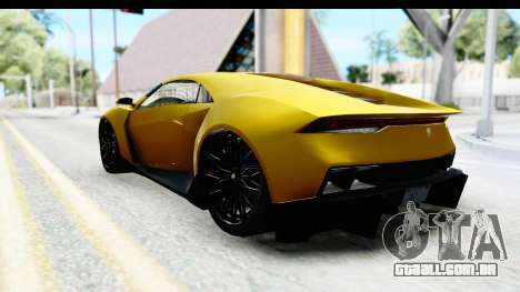 GTA 5 Pegassi Reaper IVF para GTA San Andreas esquerda vista