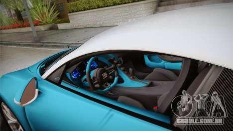 Bugatti Chiron 2017 v2.0 Korean Plate para GTA San Andreas