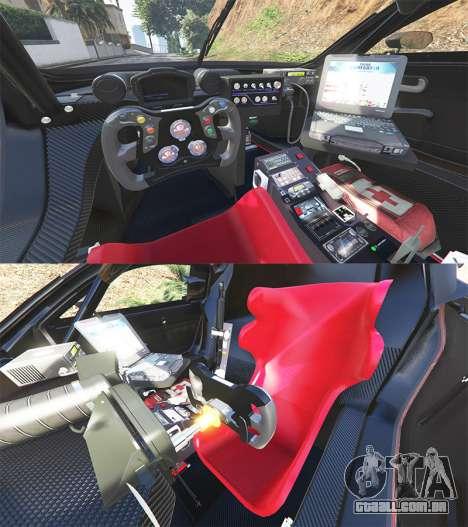 GTA 5 Renault Sport RS 01 2014 Police Interceptor [a] traseira direita vista lateral