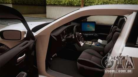 Dodge Charger 2013 Undercover para GTA San Andreas