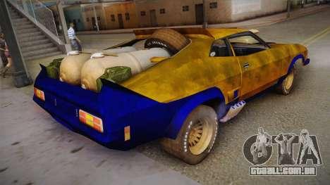 Ford Falcon 1973 Mad Max: Fury Road para GTA San Andreas esquerda vista