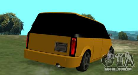 Moonbeam Kaef para GTA San Andreas esquerda vista