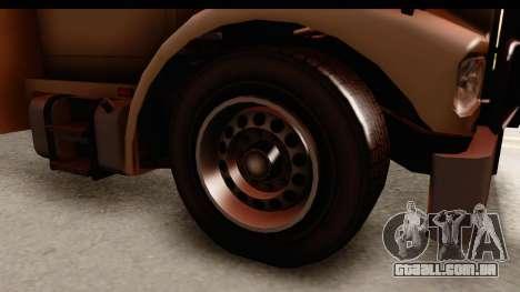 GTA 4 Vapid Benson para GTA San Andreas vista traseira