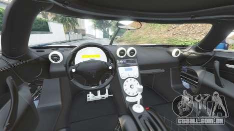 GTA 5 Koenigsegg CCX 2006 [Autovista] v2.0 [replace] frente vista lateral direita