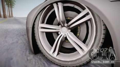 NFS: Carbon TFKs Aston Martin Vantage para GTA San Andreas traseira esquerda vista