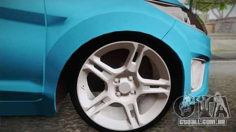 Ford Fiesta Kinetic Design para GTA San Andreas traseira esquerda vista