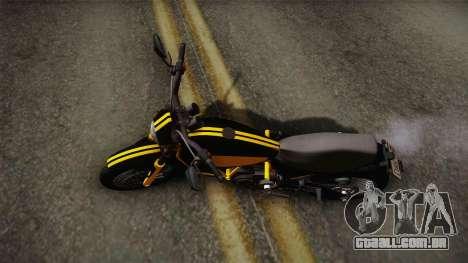 GTA 5 Pegassi Esskey PJ4 para GTA San Andreas traseira esquerda vista