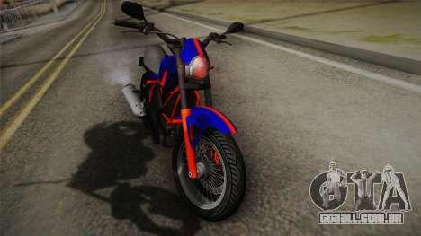 GTA 5 Pegassi Esskey PJ5 para GTA San Andreas traseira esquerda vista