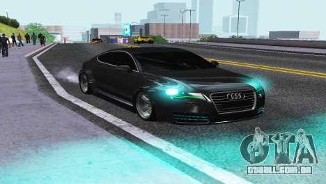 AUDI A7 SPORTSBACK para GTA San Andreas