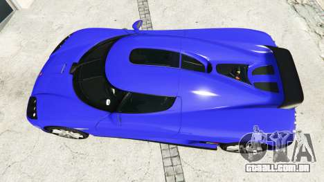 GTA 5 Koenigsegg CCX 2006 [Autovista] v2.0 [add-on] voltar vista