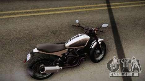 GTA 5 Pegassi Esskey PJ3 para GTA San Andreas traseira esquerda vista