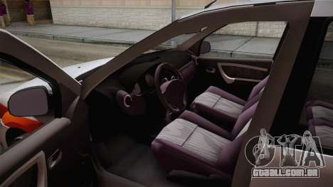 Dacia Logan Facelift Ambulanta v3 para GTA San Andreas vista direita
