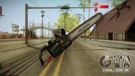 Silent Hill 2 - Chainsaw para GTA San Andreas terceira tela