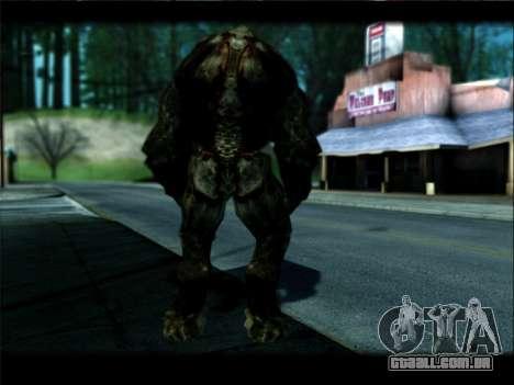 DOOM 3 - Hunter Invulnerability para GTA San Andreas quinto tela