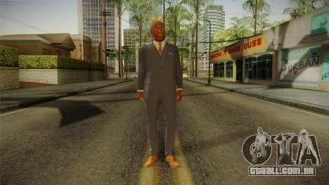 Quantum Break - Martin Hatch (Lance Reddick) para GTA San Andreas segunda tela