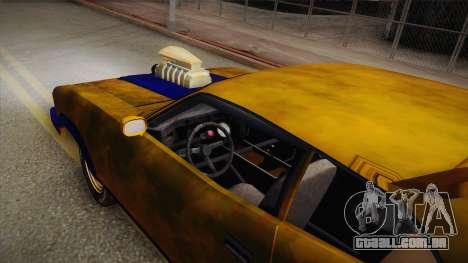 Ford Falcon 1973 Mad Max: Fury Road para GTA San Andreas vista direita