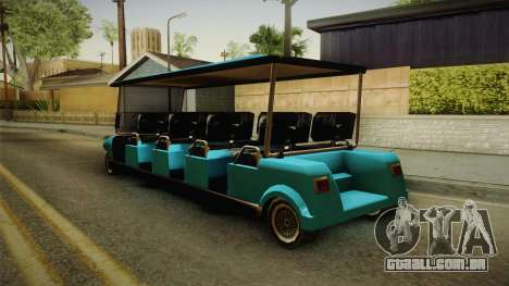 Caddy Limo para GTA San Andreas esquerda vista