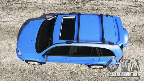 GTA 5 Toyota RAV4 (XA20) [replace] voltar vista