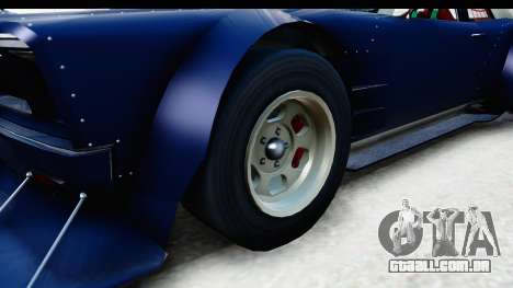 GTA 5 Declasse Tampa Drift para GTA San Andreas vista traseira
