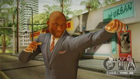 Quantum Break - Martin Hatch (Lance Reddick) para GTA San Andreas