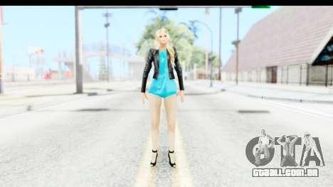 Sarah Hyland para GTA San Andreas segunda tela