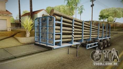 MAZ 99864 Trailer v1 para GTA San Andreas vista direita