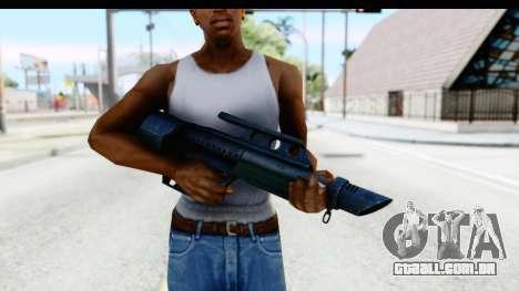 Pancor Jackhammer para GTA San Andreas terceira tela