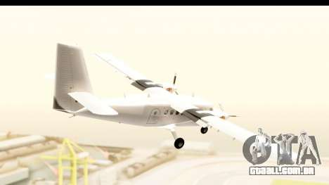 DHC-6-400 All White para GTA San Andreas vista direita