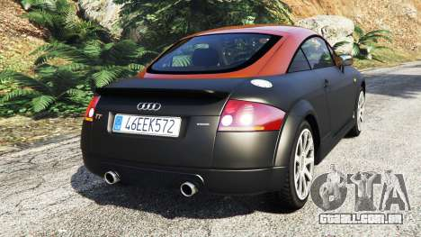 GTA 5 Audi TT (8N) 2004 [add-on] traseira vista lateral esquerda